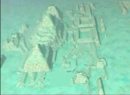 Pyramids Found in 2001 of the Coast of Cuba - about a Mile Underwater