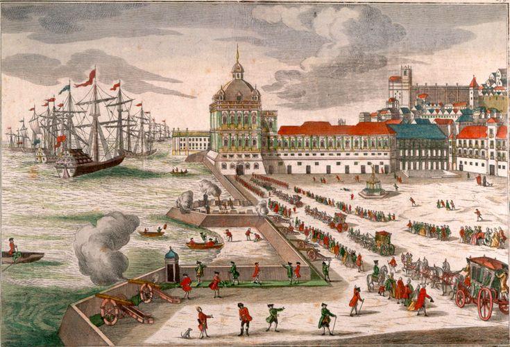 Saudades da Lisboa desaparecida CATARINA MOURA, ANDREA ESPADINHA, EDUARDO RIBEIRO  Quatro pinturas sem autor nem data mostram Lisboa antes do terramoto de 1755. Provavelmente foram pintadas quando a nova Lisboa começava já a edificar-se – um sinal de nostalgia.