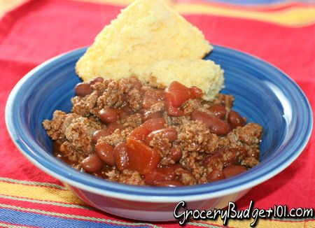 2012 $50 Weekly Menu Week #2-  How to feed a family of 4-6 on $50 a week