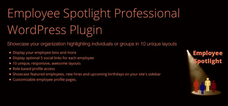 Employee Spotlight Pro Wordpress Plugin Admin Employee Profile