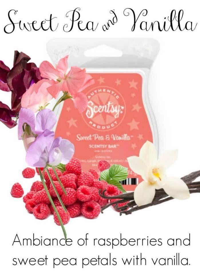 #Scentsy #gorgeous scents #Glorious Scents   #memories #fresh #clean #raspberry #sweet pea  #vanilla