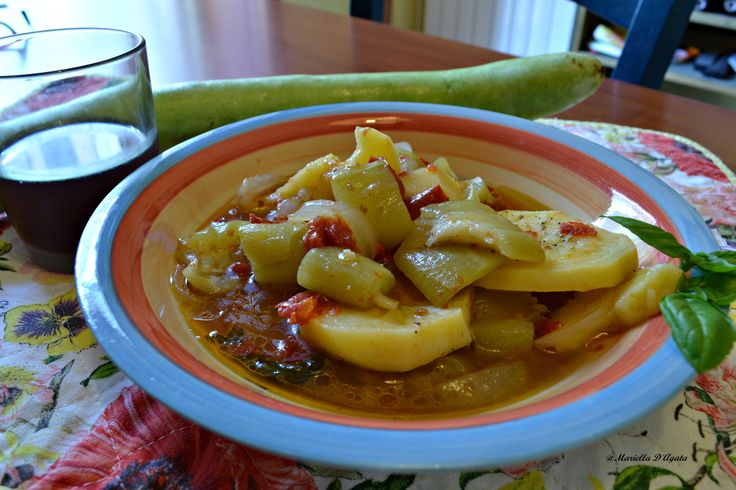 Zucchina lunga alla siciliana