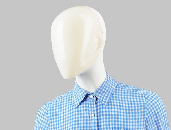 FUSION Collection by More Mannequins #FemaleMannequins #mask #collar #translucent