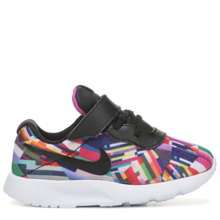 Nike Kids' Tanjun Sneaker Toddler Shoes (Multi Color)
