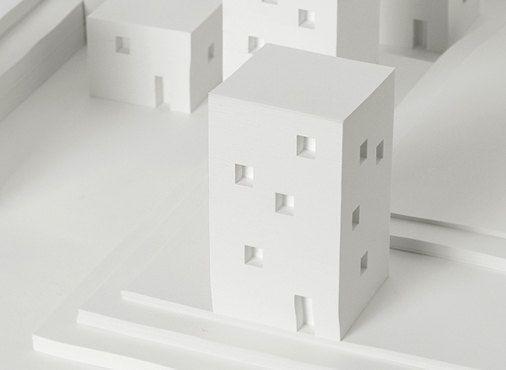 Building Memo pad / Memo pad / Note pad / 10515824