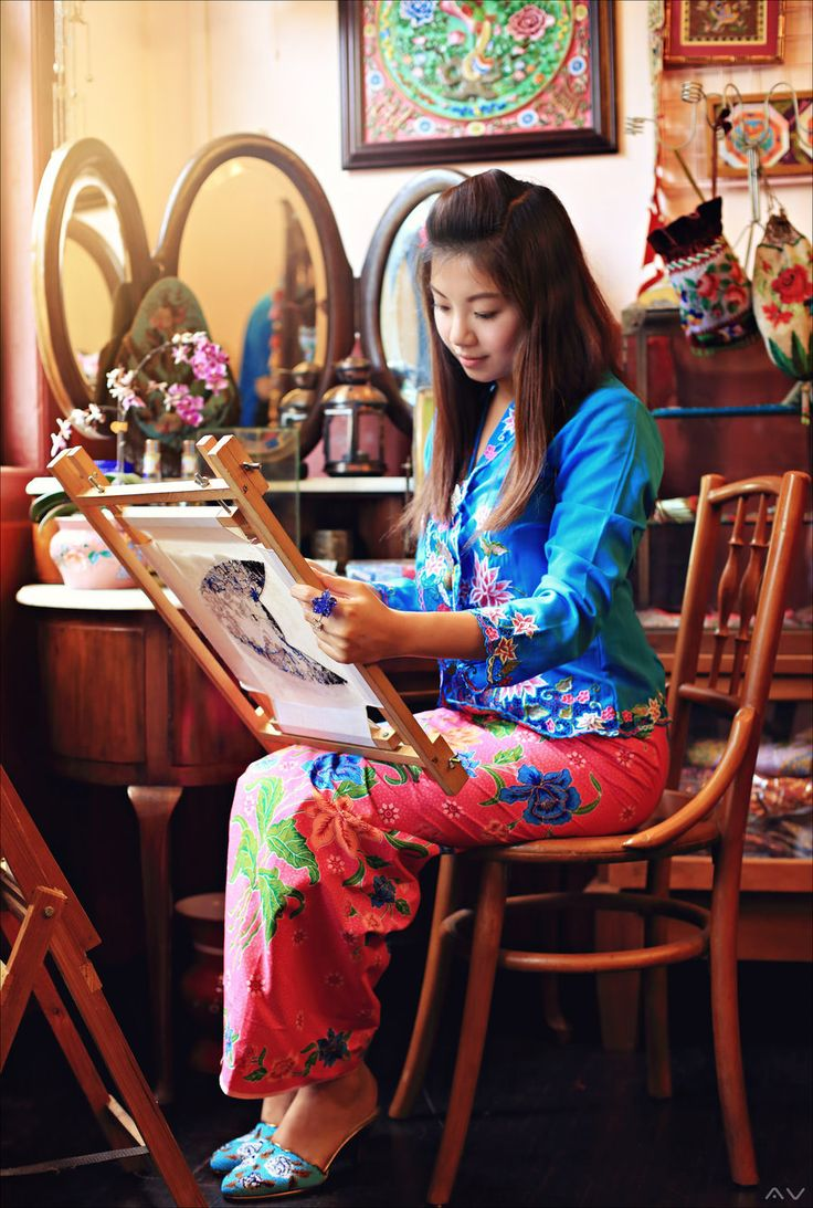 Peranakan - Nyonya by Mr-Vin.deviantart.com on @deviantART