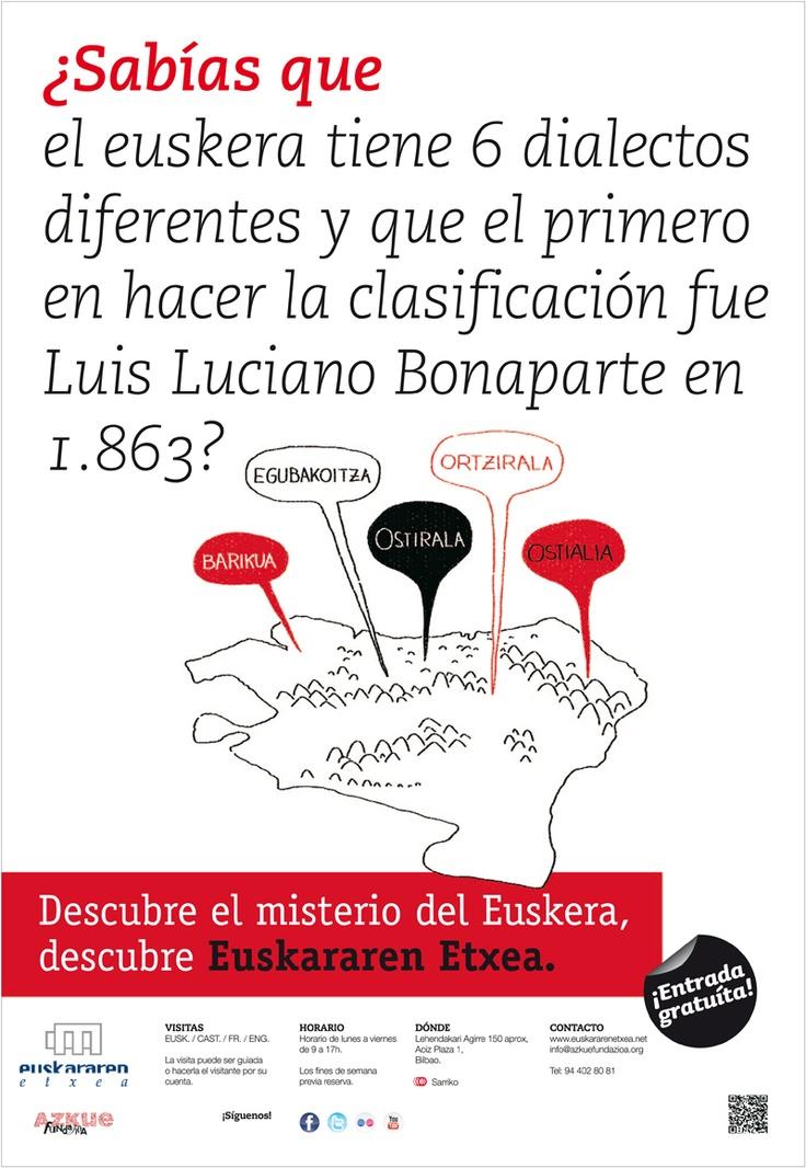 ¿Sabías que el euskera tiene 6 dialectos diferentes y que el primero en hacer la…