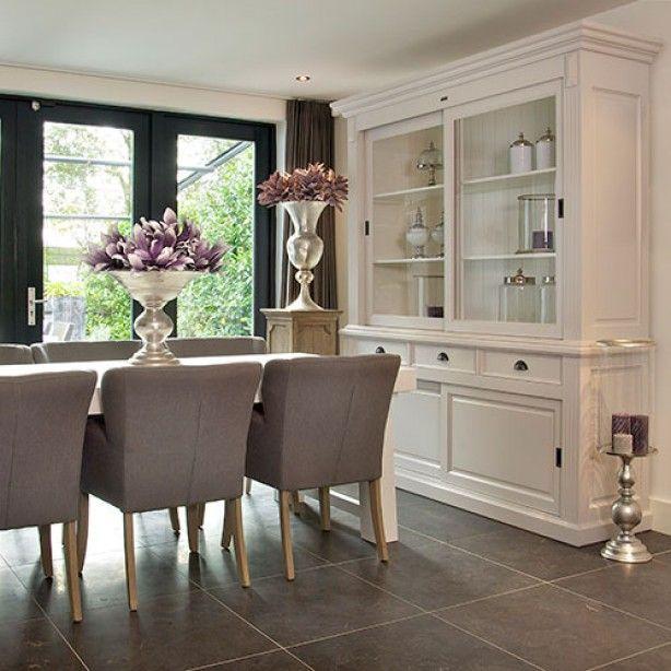 Modern en warm stijlvol woonkamer pinterest for Eethoek modern