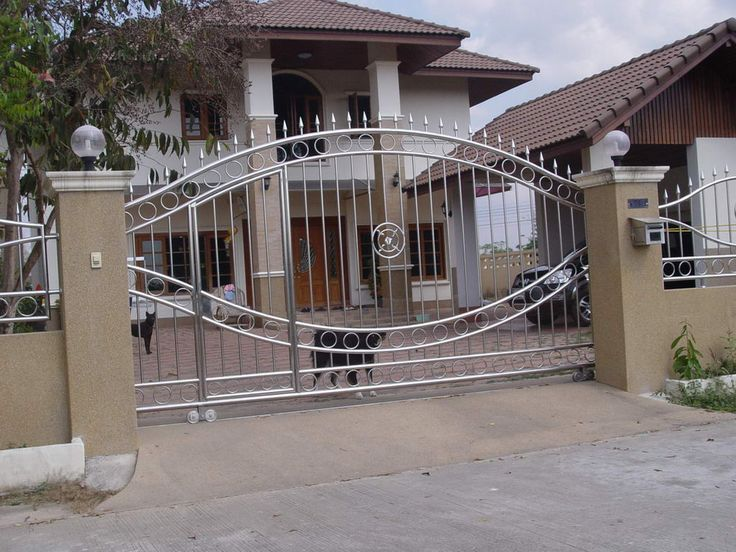 Top Tips To Each House Owner On How To Choose And Install Gates For Private  House With Latest Gate Designs For Entrance And Garage