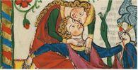 """Medioevo: la """"prima volta"""" di una signora Come era la """"prima volta"""" di una signora del Medioevo? In genere un'esperienza imbarazzante. Comunque la dama si preparava bene all'evento, cercando di essere bella e appetibile per il proprio sposo. #medioevo #medioevosesso #sessualità"""