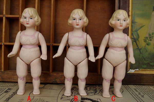 古董娃娃 复刻版瓷娃