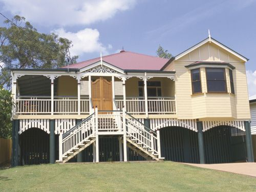 Georgina Traditional Queenslander Style Home By Garth Chapman