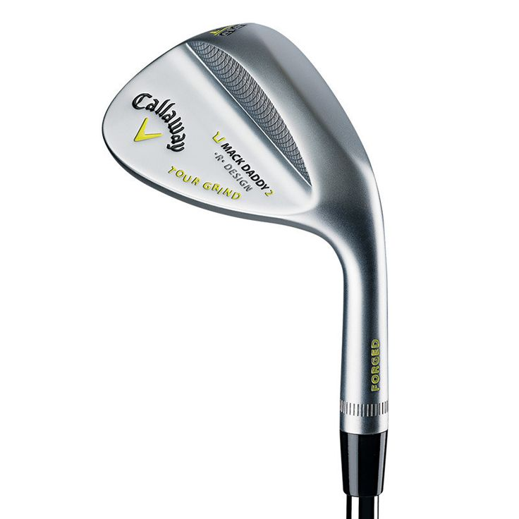 Callaway Golf Mack Daddy 2 Tour Grind Chrome - 39% larger grooves for 25% more spin out of the rough.* Laser Milled Micro Grooves increase surface roughness for more spin and control. Pre conditions the face to add surface roughness after the micro grooves wear off.