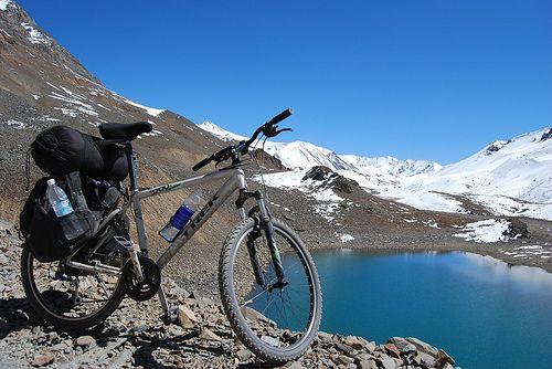 Are you daring enough to go on mountain #biking in #Himalaya