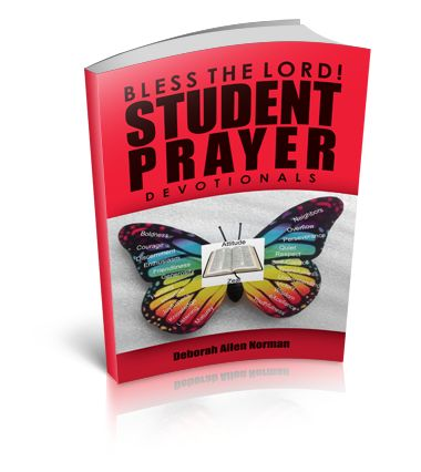 Bless the Lord, Student Prayer Devotionals was written because of my belief in the power of prayer and my passion and love for children. This collection of prayers should serve as a guide and encouragement to students of all ages!!!!