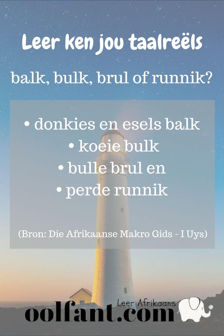 Gebruik gerus hierdie gratis hulpbron om jou kennis van Afrikaans te verbeter. Teken in en kry elke dag 'n paar vrae om te antwoord.
