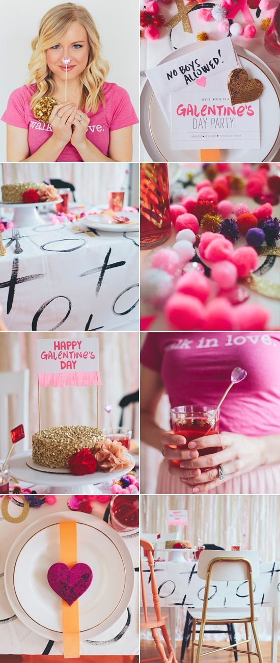 Host A Galentineu0027s Day Party For Your Lady Friends