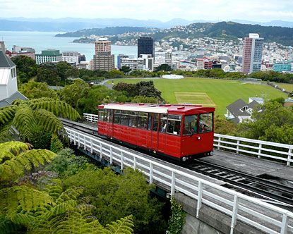 The Cable Car, Wellington. Take the kids to the top of the cable car and then visit the playground.