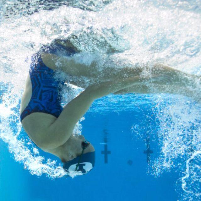 flip turn... http://www.underwateraudio.com/waterproof-ipod-shuffle/ #UnderwaterAudio