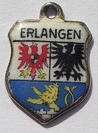 Image detail for -Erlangen, Germany - Travel Shield Charm 1