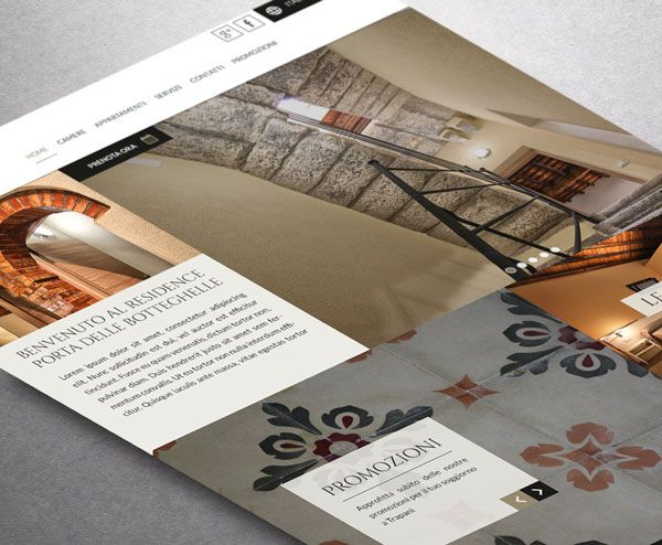 Sito web www.portadellebotteghelle.it