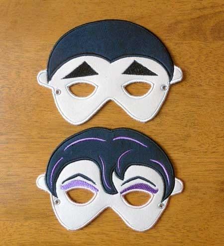 Vampire Mask Set - Newfound Applique