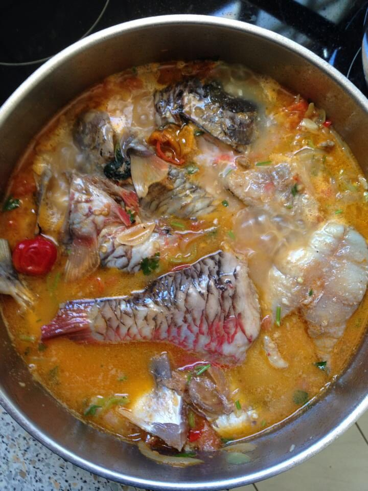 Court-bouillions de poisson pays #guadeloupe #french #caribbean #fish #stew