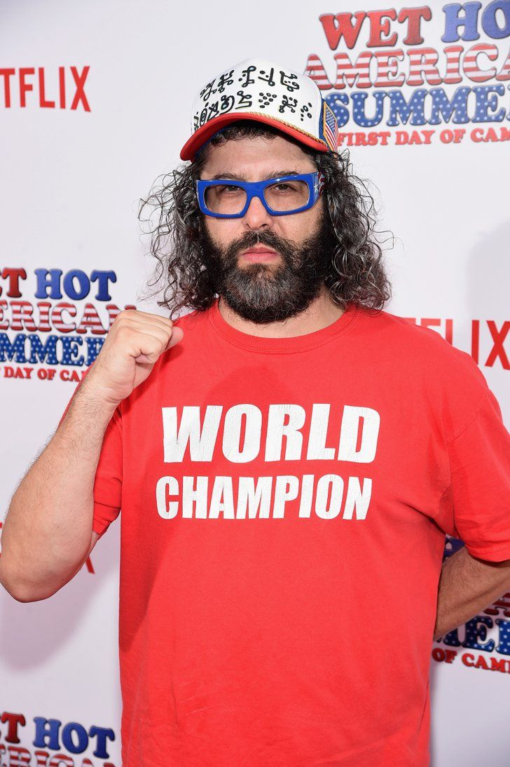 Pin for Later: The Wet Hot American Summer Reboot's Red Carpet Will Leave You Wanting More Judah Friedlander