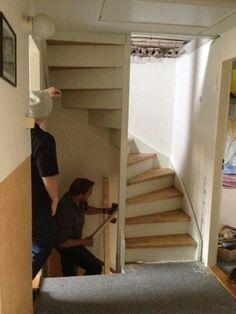 vaste trap naar zolder inbouwkast - Google zoeken