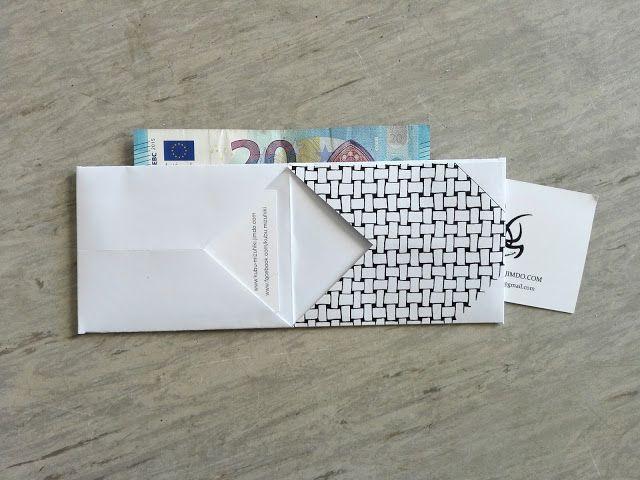 Kijk wat ik gevonden heb op Freubelweb.nl: een gratis werkbeschrijving van Robeenya om dit leuke portemonneetje, hippe visitekaartjeshouder of originele cadeaukaartverpakking te maken https://www.freubelweb.nl/freubel-zelf/zelf-maken-met-papier-portemonnee/