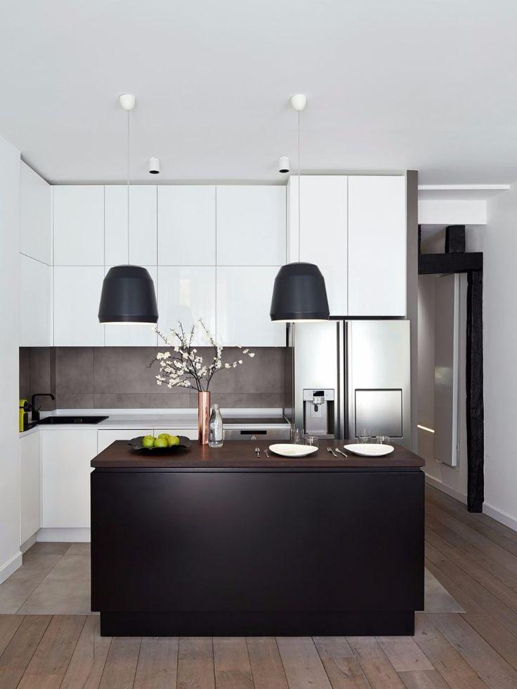 Kitchens on pinterest white kitchens modern kitchens and open