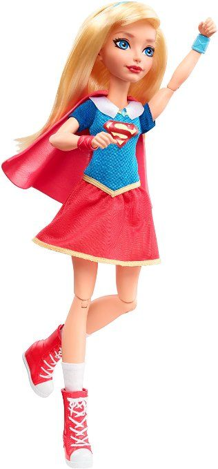 "AmazonSmile: DC Super Hero Girls Supergirl 12"" Action Doll: Toys & Games"