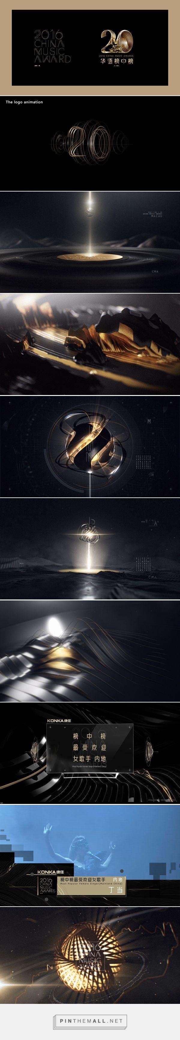 2016 China Music Awards Opening on Behance - created on 2016-09-28 02:07:12