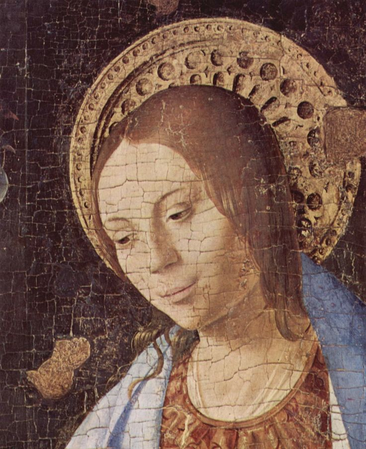 Antonello da Messina, Annunciation, detail, 1474 Palazzo Bellomo Museum, Syracuse, Italy.