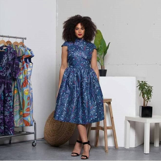 Latest UNIQUE SHORT ANKARA DRESSES 2016