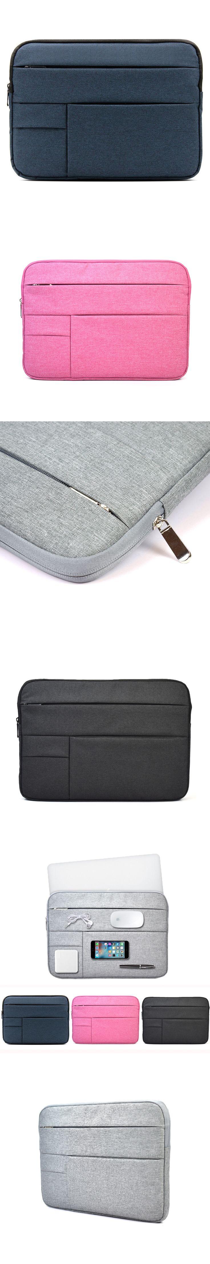 Woolen Felt Wear Resistant Laptop Sleeve Bag Ultrabook Pouch 11 12 13 14 15 Inch Case For Apple Macbook Air 11 Pro13 Reitina 15