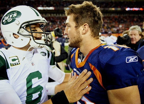 Tim Tebow to the Jets.