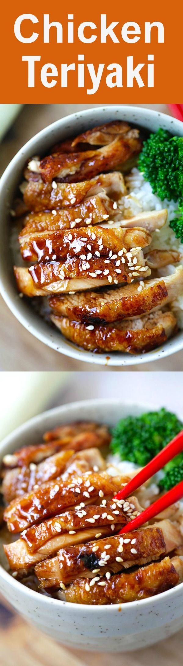 Chicken Teriyaki – learn how to make teriyaki sauce and chicken teriyaki that taste like the best Japanese restaurants. So easy and so good | rasamalaysia.com
