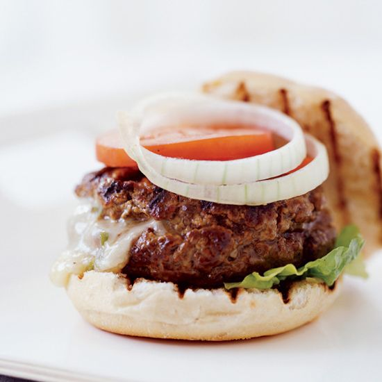 Chile-Stuffed Cheeseburger // More Amazing Burgers: http://www.foodandwine.com/slideshows/10-favorite-burger-recipes #foodandwine