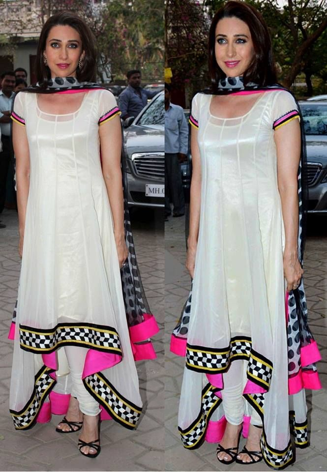 "Glam up your look in this ""DIWALI"" Like as Karishma Kapoor..!"