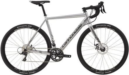 Cyklokrosové kolo Cannondale CAADX Sora - fine silver and anthracite- gloss