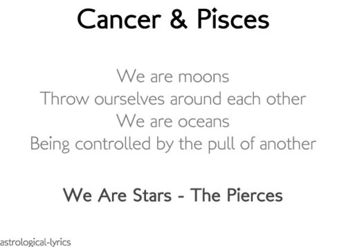 Cancer Zodiac Quotes Images: Best 25+ Cancer And Pisces Ideas On Pinterest