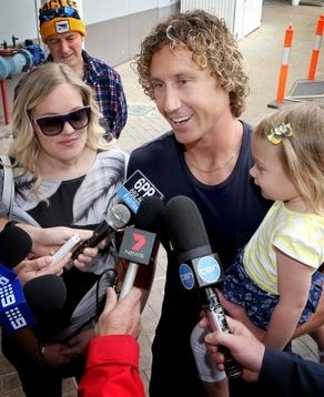 UPDATE: Brownlow Medal hero Matt Priddis said seeing the reaction of his teammates gave him as big a thrill as actually winning the award.