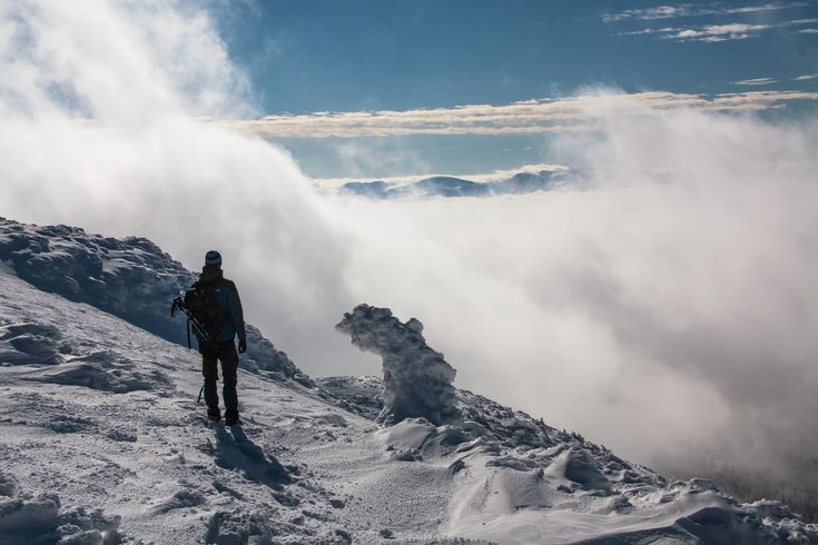 Winter hike in the Small Fatra mountains