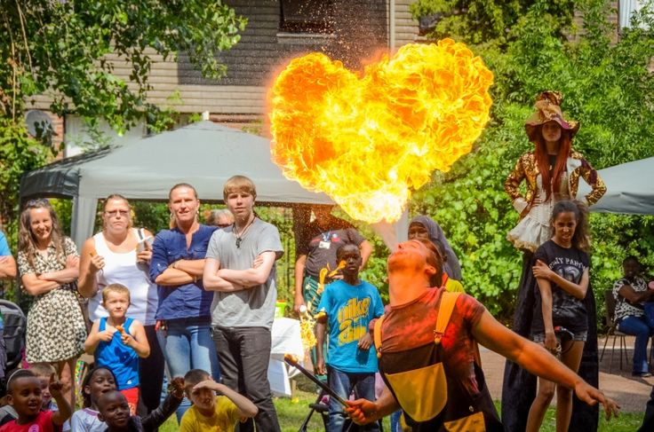 Funtabulous Fire Entertainment by JoJoFun. Available now for children's party events in Toronto