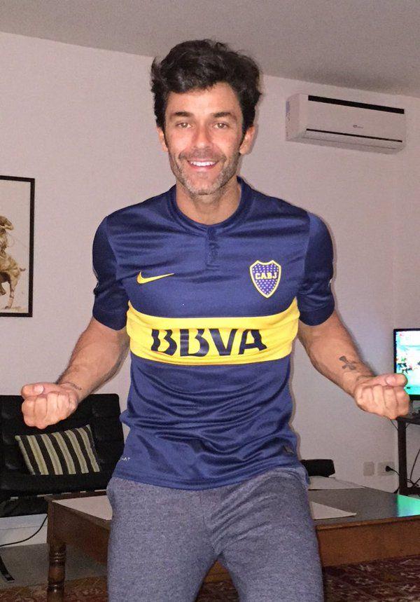 DESPUES DE MI HIJO, Mariano es el hincha mas lindo de BOCA fanatico del club y pasion q comparte con su hijo de dos años MILO