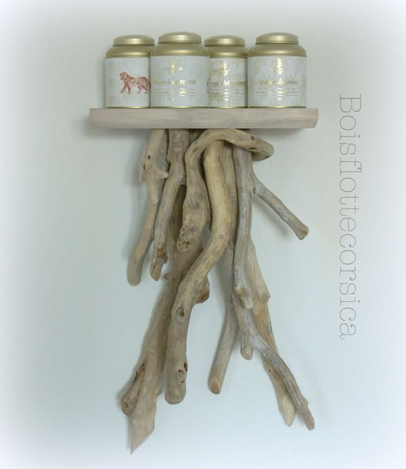 17 best images about driftwood bois flotte corsica on for Etagere bois flotte