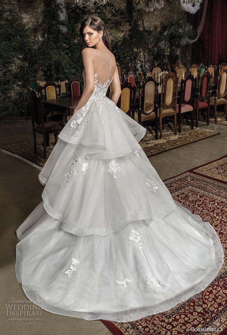Cosmobella 2019 Wedding Dresses – María Teresa Meléndez Mantilla