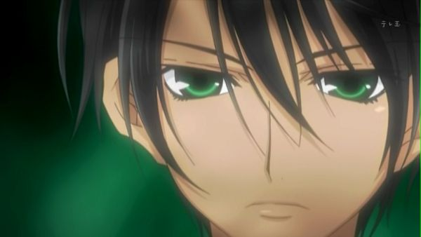 Anime Boy with Black Hair and Green eyes | HP & Any other ...