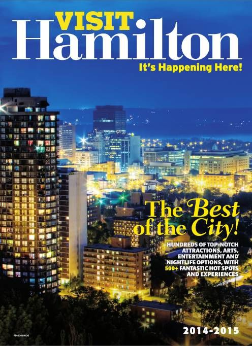 2014-2015 Visit Hamilton Guide